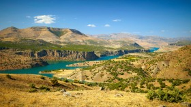 Canyon of Euphrates River