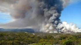 controlled fire in California