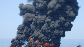 Deep Water Horizon Controlled Burn