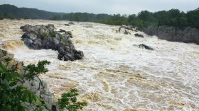 The Great Falls on the Potomac River