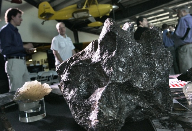 Meteorite Tears Through Connecticut Home Science