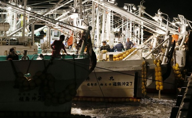 fishing trials resume off fukushima coast   environment   nature world news