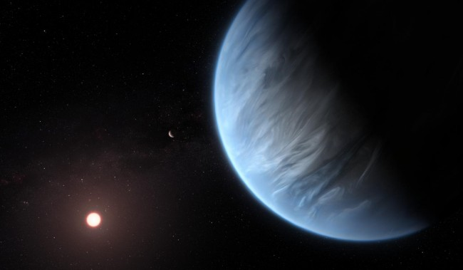 Greek lead astronomer finds water on exoplanet twice the size of Earth