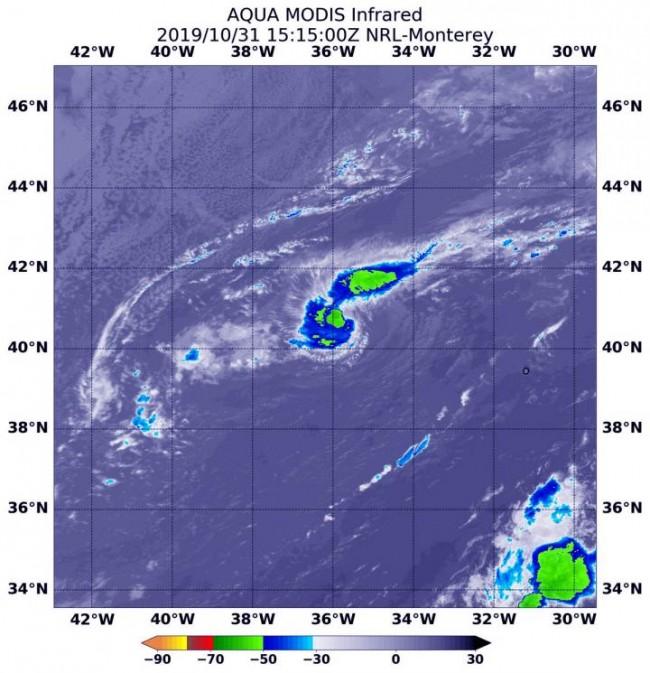 Nasa Gets Infrared View Of Atlantic Subtropical