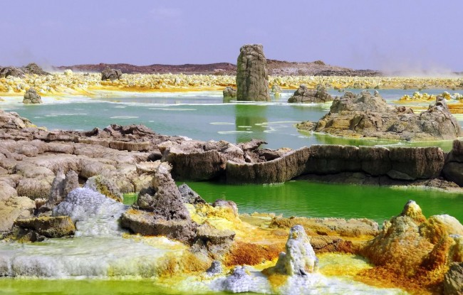 Geothermal Field of Dallol