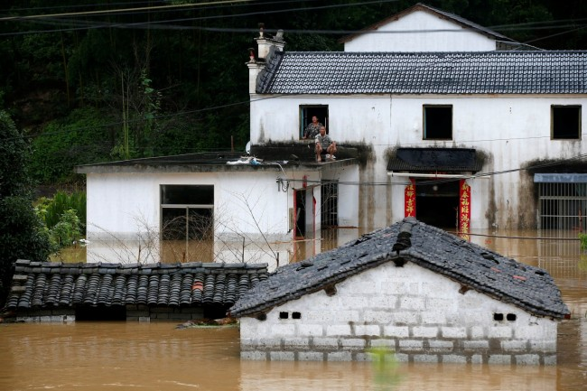 China: Heaviest Rains in Decades Continues, 20 Million People Affected